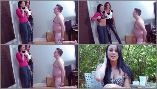 Brat Princess 2  Bella and Madison  Jerk off humiliation  preview