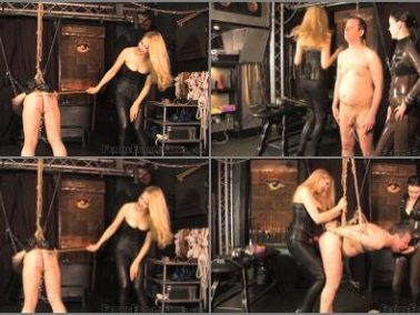 Spitroast -  Femme Fatale Films – Double Trouble -  Miss Severity Myers and Mistress Eleise de Lacy
