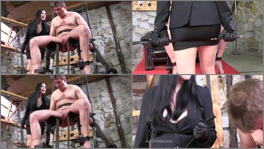SADO LADIES Femdom Clips  Useless Cock Punishment   Miss Jessica Wood  preview