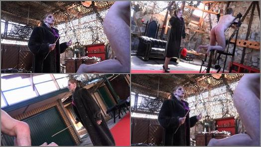 SADO LADIES Femdom Clips  Venus In Furs  The Caning   Mistress Cloe  preview