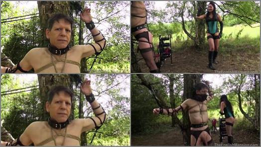 The English Mansion  Tree Tied Torment  Part 3   Mistress Amrita  preview