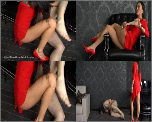 Ball Busting Chicks  Smashing your balls   Empress Victoria  preview