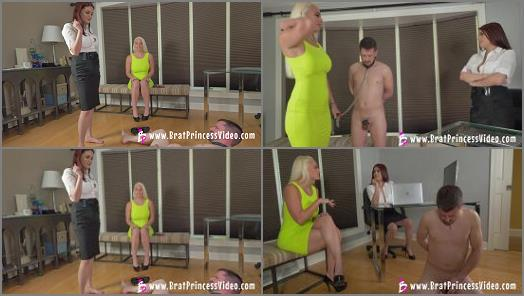 Brat Princess 2  Macy and Raquel  Macy Revisits the Beta Exploitation Specialist for Ballbusting  preview