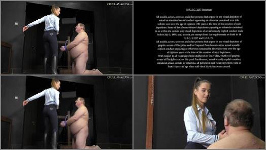 CRUEL MISTRESSES  Those painful nipple twists   Mistress Amanda  preview