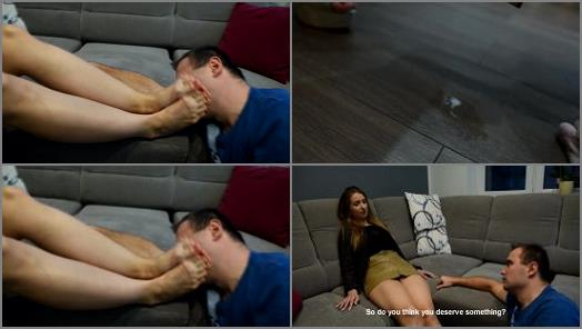 Czech Soles  Mean snobby girl  verbal and shoe humiliation spitting on loser part 2 preview