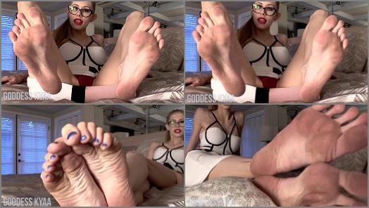 Goddess Kyaa  Filthy Femdom Feet preview