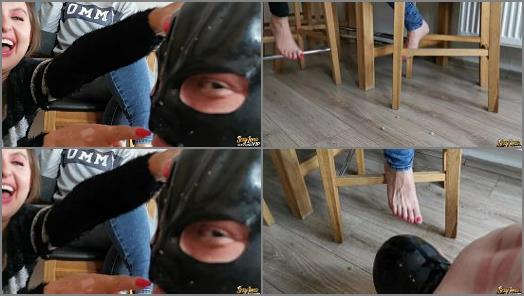 Humiliation - Goddess Lena – Feeding Time For Footslave