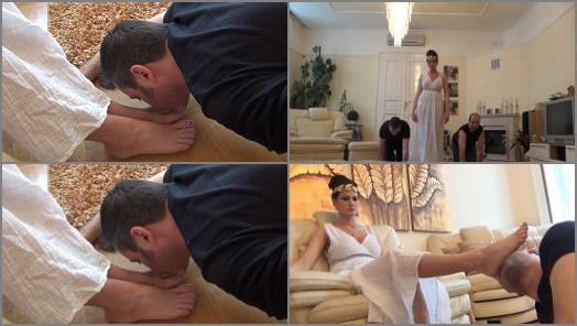 Lady Artemis  The Greek Goddess  Worship The Feet Of The Goddess preview