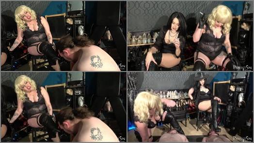 Merciless Dominas  Two Slutty Mouths   Mia and Domina Jemma  preview