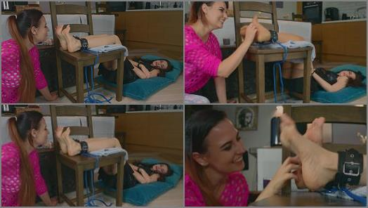 Polish Mistress  Weronika Lick And Tickle Bounded Lisa preview