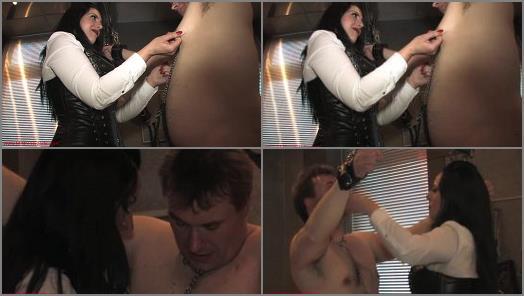 Mistress Ezada Sinn  Painful handling by Mistress Ezada  preview