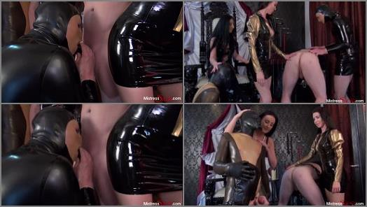 Mistress Susi  Lady Luciana and Mistress Susi bisexual slave orgy 1  preview