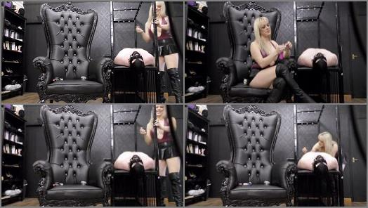 Mistress Tess  Gagged Ashtray  preview