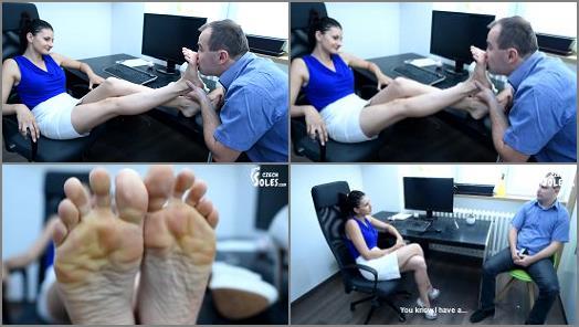 Czech Soles  Office foot fetish seduction   Lexi  preview
