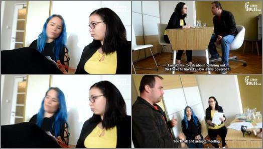 Czech Soles  Worshiping two insurance agents amazing feetON a great deal  preview
