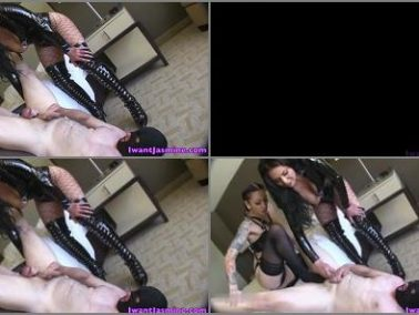 Femdom - Jasmine Mendez – Cum eating gone Bad -  Cybill Troy