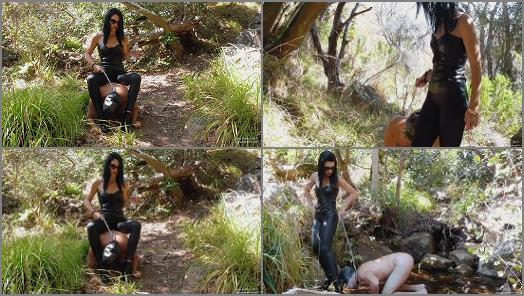 Young Goddess Kim  Woodlands slave Trail  preview