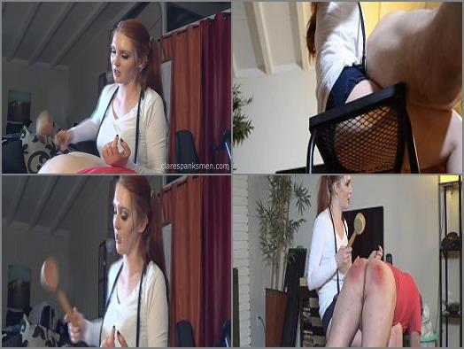 Clare Spanks Men  Wife Punishes Over Car Repair   Audrey Tate  preview