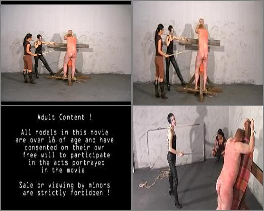 Brutal - Cruel Amazons – No Escape -  Mistress Suzy and Black Lady