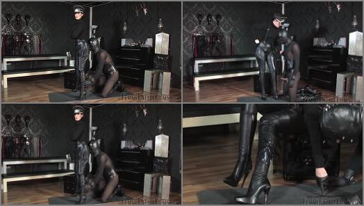 Ejaculation – Femme Fatale Films – Cum On My Boots – Complete Film –  Lady Victoria Valente