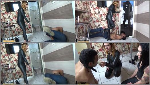 GIRLS FETISH BRAZIL  Female Domination Spanking and Toilet Humiliation by Mistress RedHead  FULL VERSION  preview