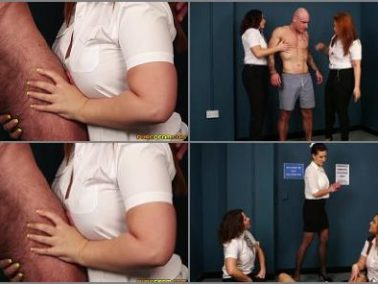 Purecfnm - Pure CFNM – Prisoner Processing -  Carly G, Mandy Foxxx and Tindra Frost