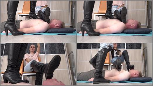 Under Sweet Weight  Boots Worship And Trampling   Ashley And Lola  preview