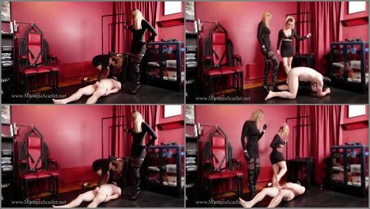 Mistress Scarlet  Kiss The Shoes That Kick Your Balls  preview