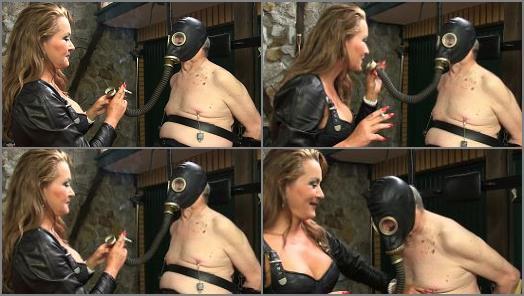 Sado Ladies  Gas Mask Training   Lady Pascal  preview