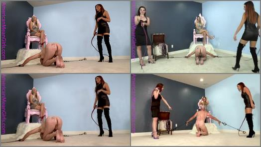 The Mean Girls  Beaten for the HBIC   Goddess Platinum and Mistress Dandi  preview