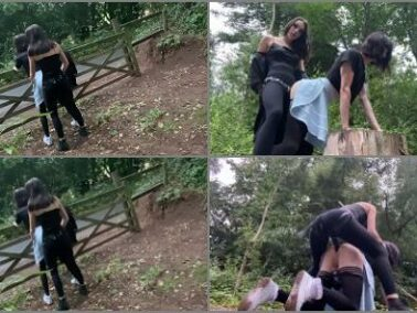 Dildo - Isabella Hush – Fucked in the woods