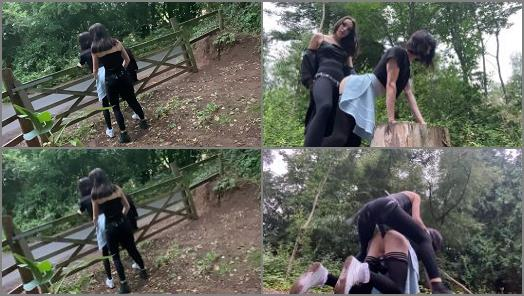 Isabella Hush  Fucked in the woods  preview