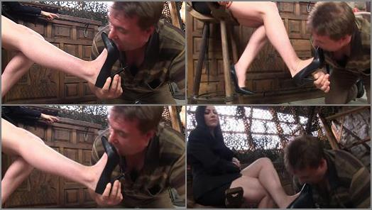 Mistress Jessica starring in video Lick My Pumps Houseboy of Sado Ladies studio  preview