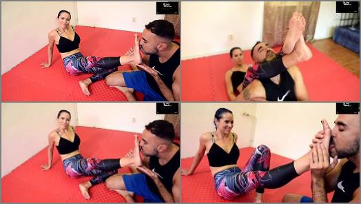 Czech Soles  Wrestling teaching lesson and gym feet worship  preview
