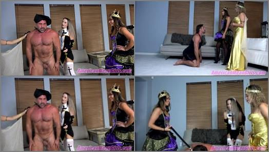 Goddess Draya Goddess Platinum Lexi Chase starring in video Halloween Heart and Ball Breakers of THE MEAN GIRLS studio preview