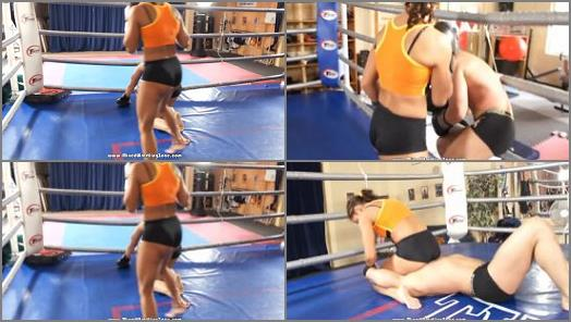 Mixed Wrestling Zone  Down and Out   Kyra vs Mike  preview