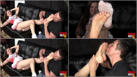Becky starring in video A Hall of Fame Foot Girl of Fucked Feet studio preview