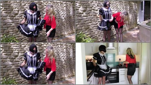 Bound Maid Sharon and Miss Eve Harper starring in video A Maids Tale Pt 2  Part 1 of The English Mansion studio preview