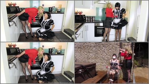 Bound Maid Sharon and Miss Eve Harper starring in video A Maids Tale Pt 2  Part 3 of The English Mansion studio preview