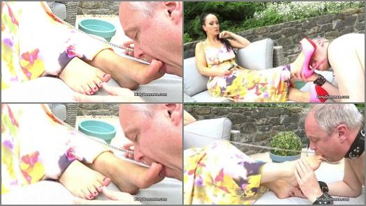Fetish Liza starring in video Goddess foot and shoe worship of Dirty Dommes studio preview