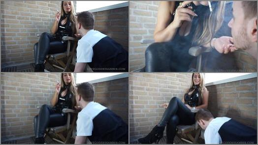 Goddess Amber starring in video My Human Ashtray preview