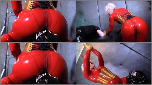 Smothered Under Helenas Rubber Ass of Cybill Troy FemDom AntiSex League studio preview