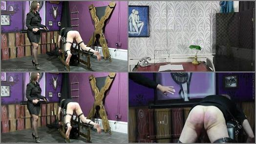 The 4 Stage Punishment Of Black stage 3 Reformatory Strapping preview