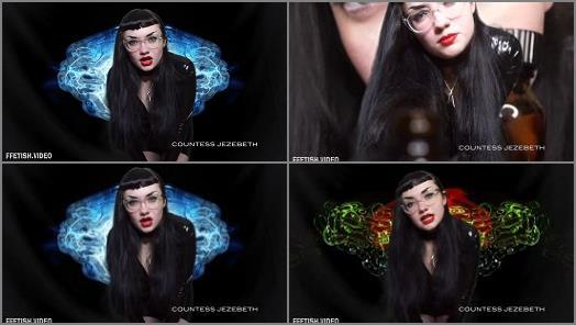 Mindwash – Countess Jezebeth starring in video 'Fingering Your Brain'