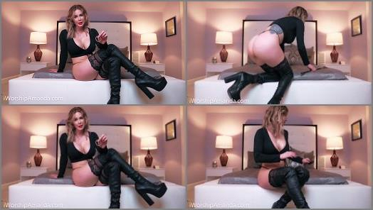 Goddess Amanda starring in video Your Pain is My Ultimate Pleasure CBT preview