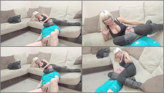 Goddess Storm starring in video A CRUEL AND SADISTIC LANDLORD of DomNation studio preview