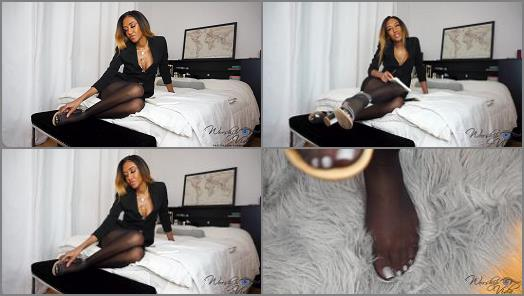 Goddess Vida starring in video Professor Turned Foot Slave  Bmailfantasy Fantasy preview