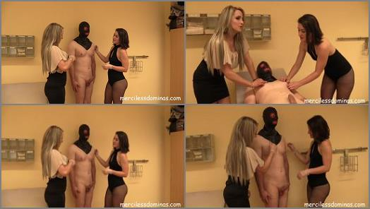 Miss Courtney and Miss Flora starring in video Extreme Nipple Play of Merciless Dominas studio preview