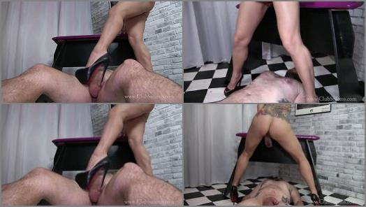 Miss Jasmine starring in video Pee and Pain of Club Stiletto studio preview