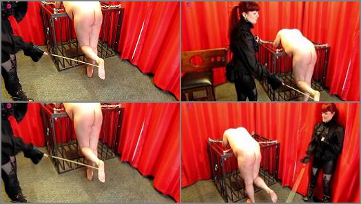 Miss Kitty Bliss starring in video Bastinado For Muddy Shoes preview